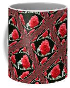 Rose Tiles Coffee Mug