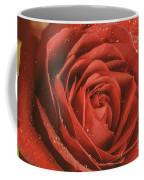 Rose Waiting In The Rain Coffee Mug