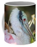 Roseate Spoonbill Profile Coffee Mug