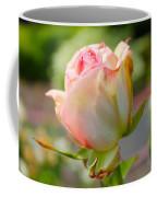 Rosebud Pale Pink Coffee Mug