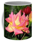Roses And A Dahlia Coffee Mug