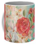 Roses And Flowers Coffee Mug
