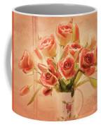 Roses And Tulips Coffee Mug