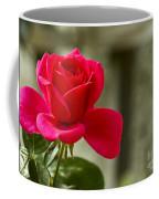 Red Rose Wall Art Print Coffee Mug