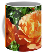Roses Art Prints Orange Rose Flower 11 Giclee Prints Baslee Troutman Coffee Mug