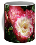 Roses Art Prints Pink White Rose Flowers Gifts Baslee Troutman Coffee Mug