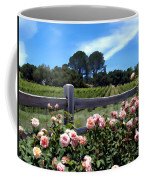 Roses At Rusack Vineyards Coffee Mug