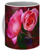 Roses Beautiful Pink Vegged Out Coffee Mug