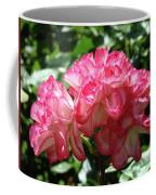 Roses Bouquet Pink White Rose Flowers 2 Rose Garden Baslee Troutman Coffee Mug