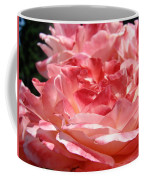 Roses Cinnamon Pink Rose Flowers 3 Rose Garden Art Baslee Troutman Coffee Mug