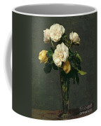 Roses In A Champagne Flute Coffee Mug