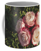 Roses In A Vase,on The Grass Coffee Mug