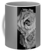 Roses In Black And White Coffee Mug