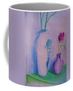 Roses  In Vase Coffee Mug