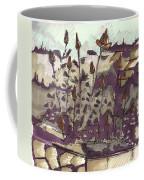 Roses On Hill Coffee Mug