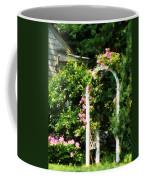 Roses On Trellis Coffee Mug