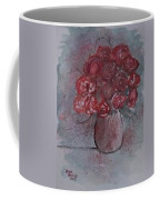 Roses Still Life Watercolor Floral Painting Poster Print Coffee Mug
