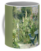 Roses Tremieres Coffee Mug by Berthe Morisot