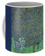 Roses Under The Trees Coffee Mug