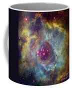Rosette Nebula Ngc 2244 In Monoceros Coffee Mug