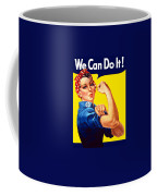 Rosie The Rivetor Coffee Mug by War Is Hell Store
