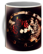 Rosses On A Flowing Dish Coffee Mug