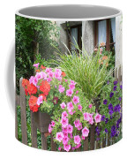 Rothenburg Flower Box Coffee Mug