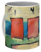Rothko Meets Hitchcock Coffee Mug