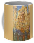 Rouen Cathedral, Facade, Sunset Coffee Mug