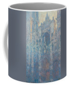 Rouen Cathedral, The Portal, Morning Light Coffee Mug