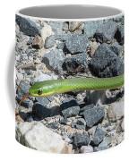 Rough Green Snake Coffee Mug
