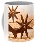 Rough Spurs - Sepia Coffee Mug