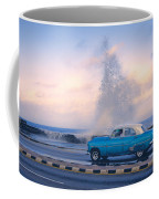 Rough Surf On The Malecon Coffee Mug