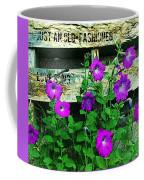 Roughin It Love Coffee Mug