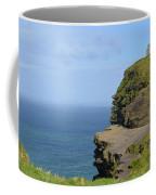 Round Stone Tower Refferred To As O'brien's Tower In Ireland Coffee Mug