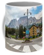 Roundabout Cortina D'ampezzo  Coffee Mug