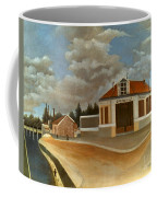 Rousseau: Factory, C1897 Coffee Mug