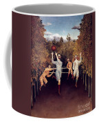 Rousseau: Football, 1908 Coffee Mug