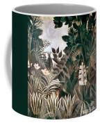 Rousseau: Jungle, 1909 Coffee Mug