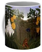Rousseau: Lion Coffee Mug
