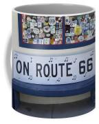 Route 66 Bench Coffee Mug