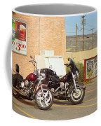 Route 66 - Grants New Mexico Motorcycles Coffee Mug