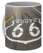 Route 66 Highway Sign Coffee Mug