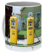 Route 66 - Illinois Gas Pumps Coffee Mug