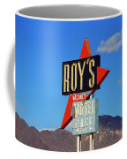 Route 66 - Roy's Of Amboy California Coffee Mug