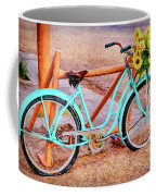 Route 66 Vintage Bicycle Coffee Mug