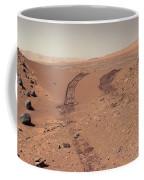 Roving Across Mars 1 - Earth Light Coffee Mug