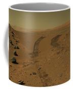 Roving Across Mars 2 - Mars Light Coffee Mug