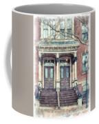 Row House Providence Rhode Island Coffee Mug