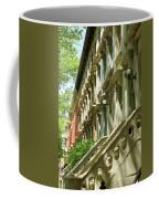 Row Houses In White Coffee Mug